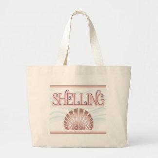 Shelling Large Tote Bag