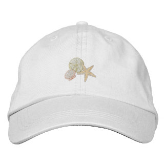 Shells - Accent Embroidered Hats