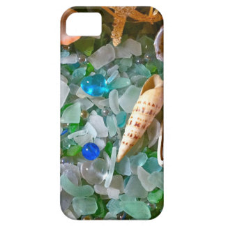 Shells and Beach Glass iPhone 5 Covers
