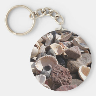 Shells and Stones Key Ring