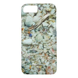 Shells Becoming Sand Abstract Impressionism iPhone 7 Case