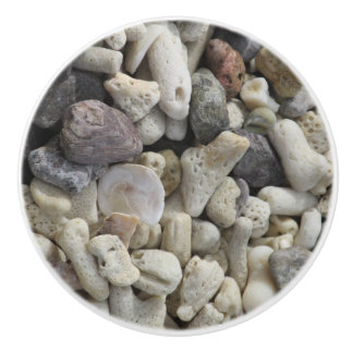 Shells Ceramic Knob