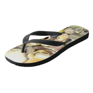 Shells Flip Flops
