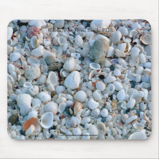 Shells, Fort Myers Beach, FL. Mouse Pad