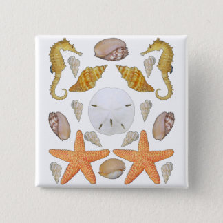 Shells Galore 15 Cm Square Badge