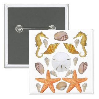 Shells Galore 15 Cm Square Badge