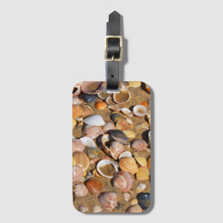 Shells On A Sandy Beach | Andalusia, Spain Luggage Tag