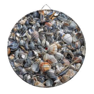 shells on the beach dartboard