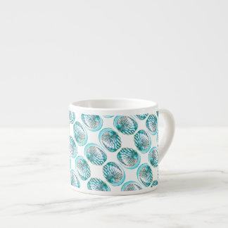 Shells Pattern. Espresso Cup