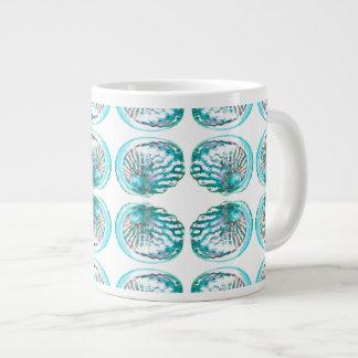 Shells Pattern. Large Coffee Mug