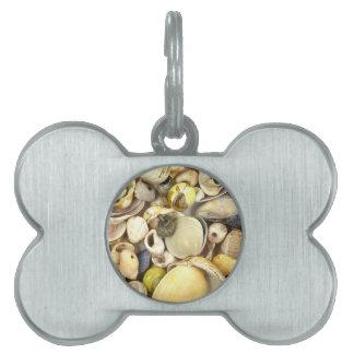 Shells Pet Name Tag
