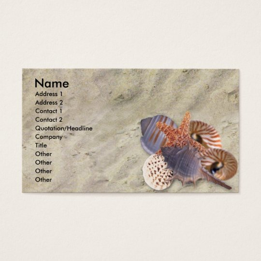 Shells Profile Card