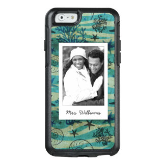 Shells & Starfish Pattern | Your Photo & Name OtterBox iPhone 6/6s Case