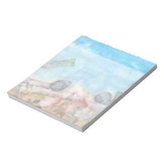 Shells Under The Sea. Notepad