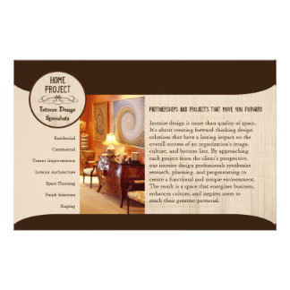 Shelly s Home Project 8 5 x5 5 Fliers Full Color Flyer