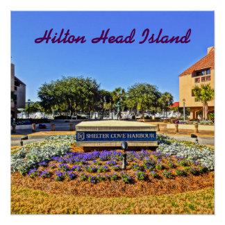 Shelter Cove Harbour & Marina Hilton Head Island Poster