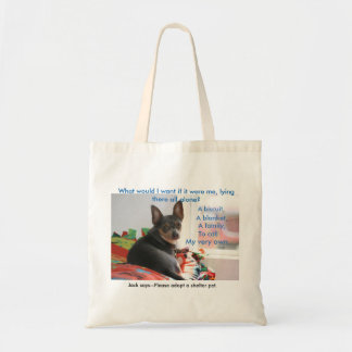 Shelter Pet Tote Budget Tote Bag
