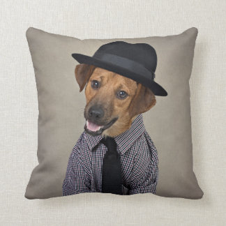Shelter Pets Project - Bubba Throw Pillow