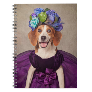 Shelter Pets Project - Lady P. Spiral Notebook