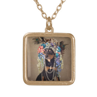 Shelter Pets Project - Midnight Gold Plated Necklace
