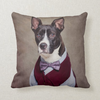 Shelter Pets Project - Petey Throw Pillow