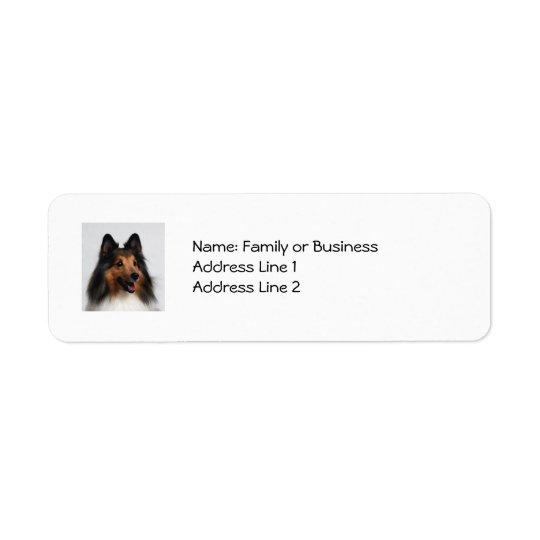 Sheltie Address Labels