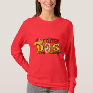 Sheltie Agility Shetland Sheepdog Gifts T-Shirt
