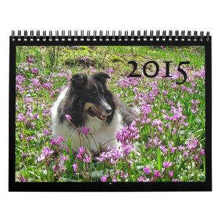 Sheltie Calendar 2015