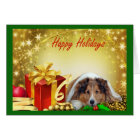 Sheltie Christmas Card Gifts