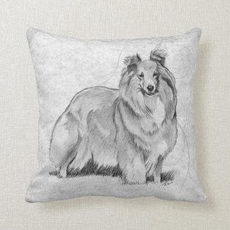 Sheltie Cushion