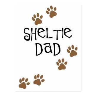 Sheltie Dad Postcards