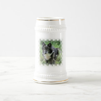 Sheltie Dog Picture Beer Stein