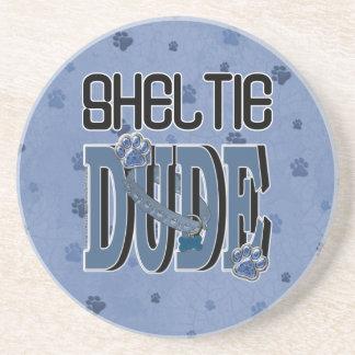 Sheltie DUDE Drink Coasters