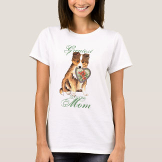 Sheltie Heart Mom T-Shirt