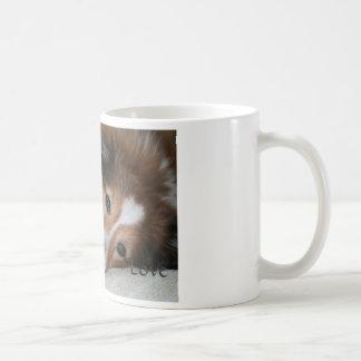 Sheltie Love mug