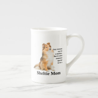 Sheltie Mom Bone China Mug