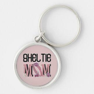 Sheltie MOM Key Ring