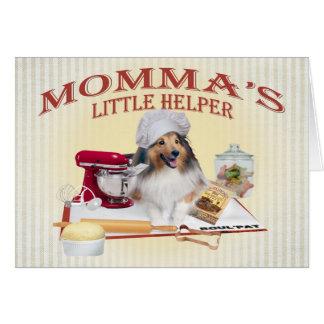 Sheltie Momma s Helper cards
