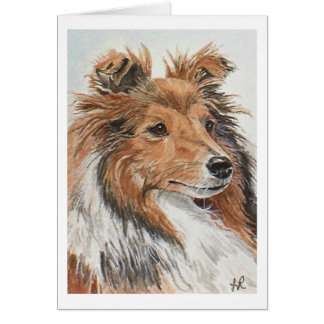 Sheltie Notecards Card