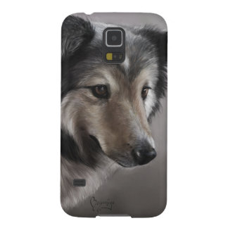 Sheltie Painting Galaxy S5 Covers