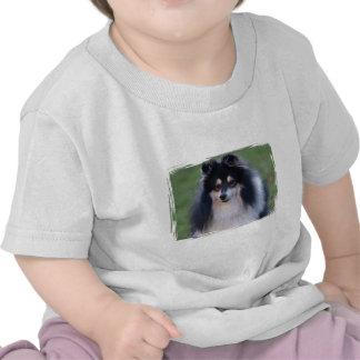 Sheltie Photo Baby T-Shirt