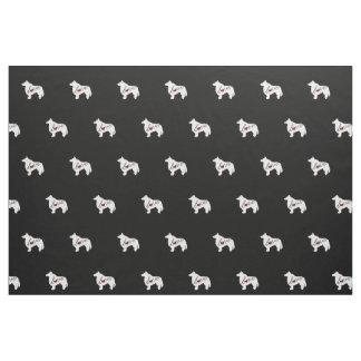 Sheltie (Shetland Sheepdog) Love Fabric