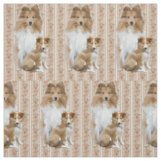 Shelty Mother Love Fabric