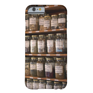 Shelves of herb jars barely there iPhone 6 case