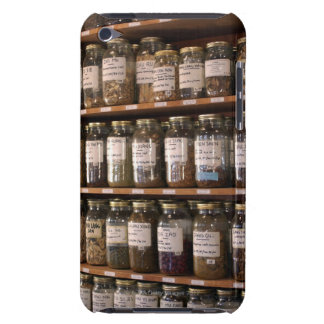 Shelves of herb jars iPod touch Case-Mate case
