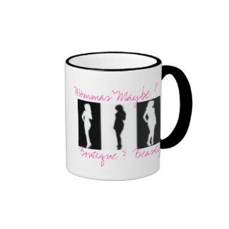 shema cups, Mommas' Maybe ?, Boutique &  Beauty Ringer Mug