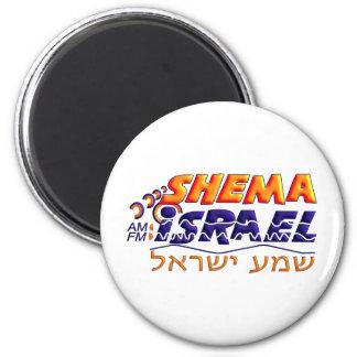 Shema Israel 6 Cm Round Magnet