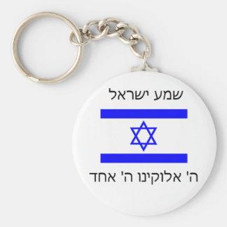 shema israel keychain