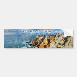 Shema Prayer Bumper Sticker