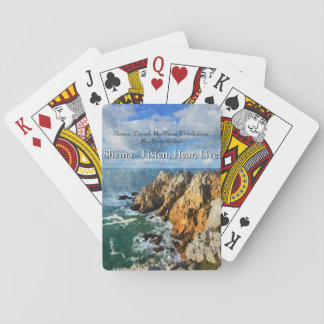 Shema Prayer Playing Cards